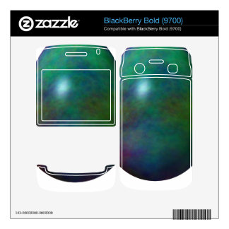 Happy Easter! - Green Egg BlackBerry Bold Decals