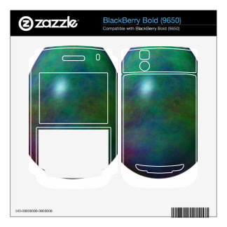 Happy Easter! - Green Egg BlackBerry Bold Decal