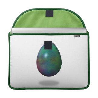 Happy Easter! - Green Egg Sleeve For MacBooks