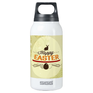 Happy Easter Green Insulated Water Bottle