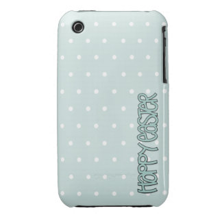 Happy Easter green iPhone 3G/3GS Case-Mate Case-Mate iPhone 3 Case