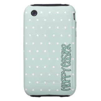 Happy Easter green iPhone 3G/3GS Case-Mate Tough iPhone 3 Tough Cover