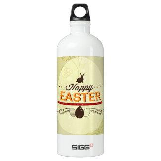 Happy Easter Green Water Bottle