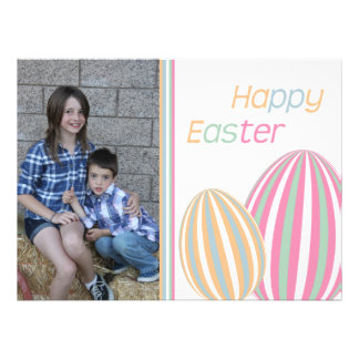 Happy Easter greeting card Custom Invitation