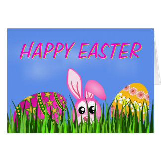 Happy Easter Greeting Card Greeting Cards