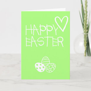 Simple easter cards greeting photo cards zazzle happy easter greetings card simple m4hsunfo