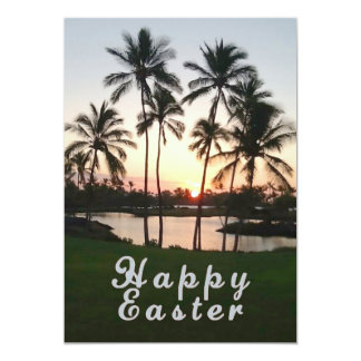 Happy Easter Hawaii Card