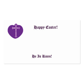 Happy Easter!, He Is Risen!-Customize Business Card Templates