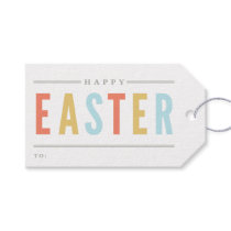 Happy Easter | Holiday gift tags Pack of gift tags