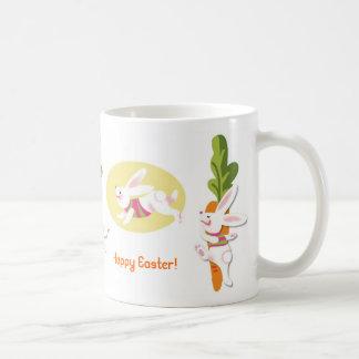 "Happy Easter! ""Hop, Jump, Skip"" Mug"