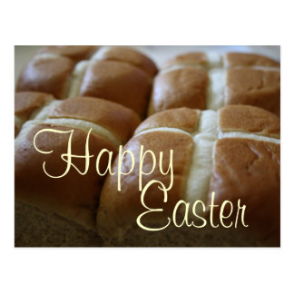 Happy Easter Hot Cross Buns Postcards