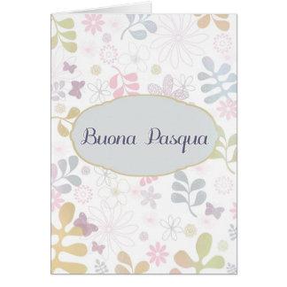 Happy Easter in Italian, Buona Pasqua Card