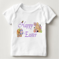 Happy Easter - Infant Long Sleeve Baby T-Shirt