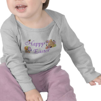 Happy Easter - Infant Long Sleeve Tshirts