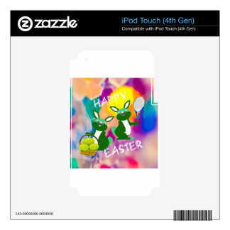 Happy Easter iPod Touch 4G Decal