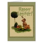 "Happy Easter ""Irish Terrier "" Card"