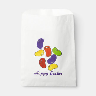 Happy Easter Jelly Beans Homemade Candy Treat Bag