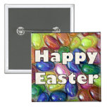 Happy Easter Jelly Beans Pinback Buttons