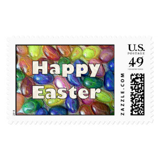 Happy Easter Jelly Beans Postage