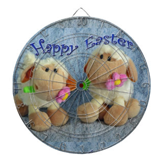 Happy Easter Lambs Dart Board