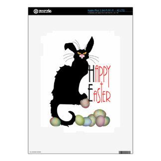 Happy Easter - Le Chat Noir Decal For iPad 3
