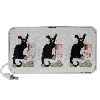 Happy Easter - Le Chat Noir Notebook Speakers