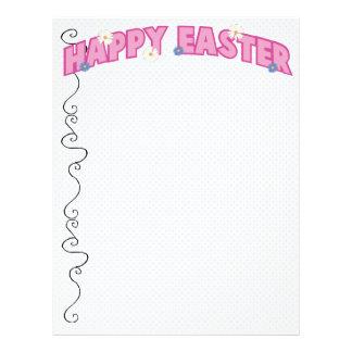 Happy Easter Letterhead