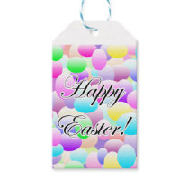 Happy Easter Light Gift Tags