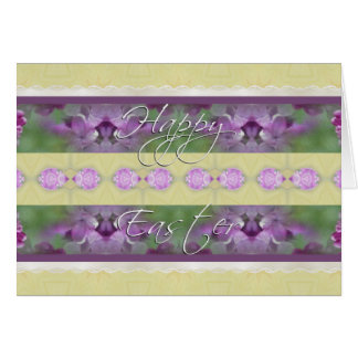 Happy Easter Lilacs Card