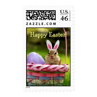 Happy Easter Little Chipmunk Stamps