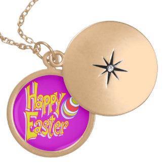 Happy Easter - Locket Necklace