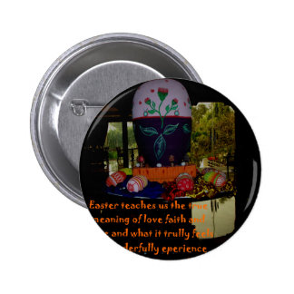 Happy Easter Love Faith and Hope Wishes Button