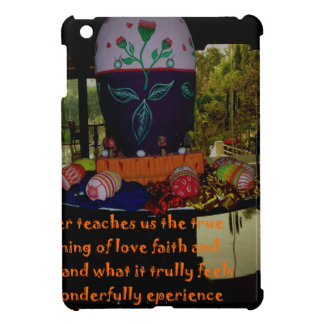 Happy Easter Love Faith and Hope Wishes iPad Mini Cases