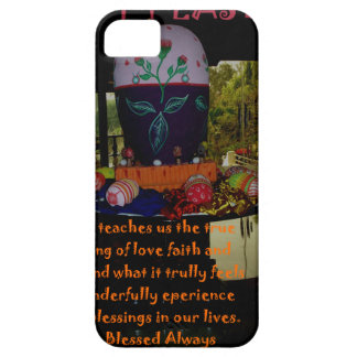 Happy Easter Love Faith and Hope Wishes iPhone SE/5/5s Case