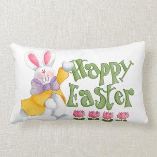 Happy Easter Lumbar Pillow