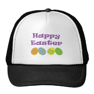 Happy Easter Mesh Hats