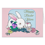 Happy Easter Mom Greeting Card
