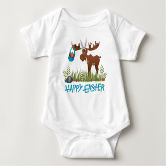 Happy Easter Moose T Shirt