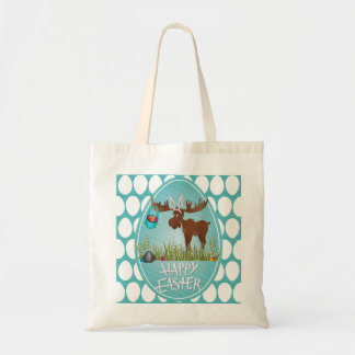 Happy Easter Moose - Tote