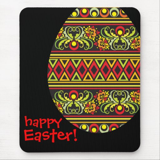 Happy Easter!_mousepad Mouse Pads