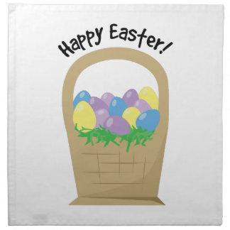 Happy Easter Cloth Napkin