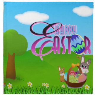Happy Easter Napkin