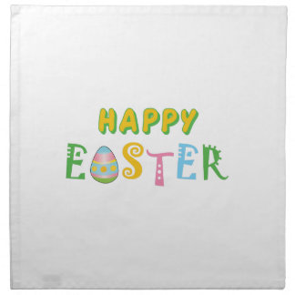 HAPPY EASTER PRINTED NAPKINS