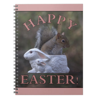 Happy Easter Spiral Note Book