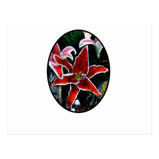 Happy Easter o Black 2 Tiger Lily The MUSEUM Zazzl Postcard