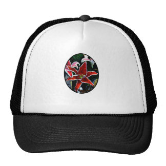 Happy Easter o Black 2 Tiger Lily The MUSEUM Zazzl Trucker Hat