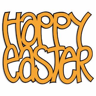 Happy Easter orange Sculpture