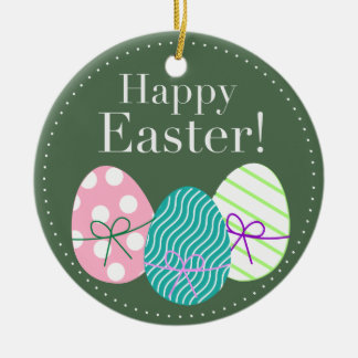 Happy Easter Ornaments