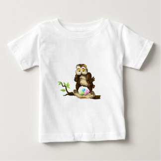 Happy Easter owl Baby T-Shirt