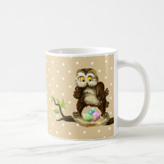 Happy Easter owl Coffee Mug
